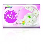 Godrej No.1 Jasmine Soap, 100g (Buy 3 Get 1 Free) for Rs. 74