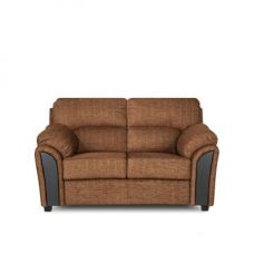 Buy Ohio Two Seater Sofa Dark Brown for Rs. 24,000