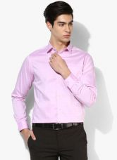 Buy Blackberrys Pink Printed Slim Fit Formal Shirt from Jabong