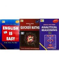Flat 29% off on Magical book on quicker maths, English is Easy & Analytical Reasoning Combo Pack