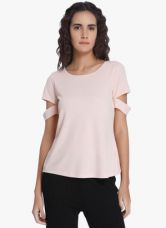 Vero Moda Pink Solid Blouse for Rs. 850