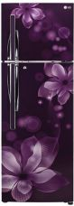 Flat 18% off on LG 260 L Frost Free Double Door Refrigerator  (GL-T292RPOY, Purple Orchid, 2017)