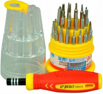 Flat 33% off on Jackly Impact Screwdriver Set(Pack of 31)