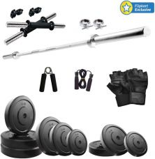 Buy KRX 20 KG COMBO 9 Gym & Fitness Kit for Rs. 1,988