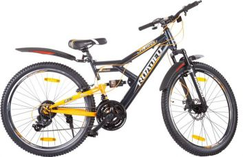 Buy Hercules Roadeo Geolander 1FG274G0919000A Road Cycle  (Grey, Orange) from Flipkart