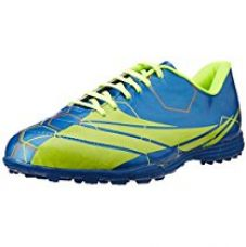 Nivia Stay Tough Training HG Football Shoes, Men's 9 UK (Blue/Green) for Rs. 953