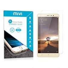 Buy Mivi Redmi Note 3 Military Grade Anti-Scratch Tempered Glass Screen Guard (0.3mm, Clear) from Amazon