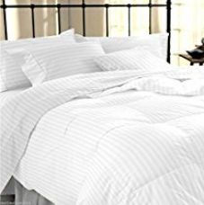 Buy Linenwalas Classic All Season Duvet with Cotton Stripes Cover - 90