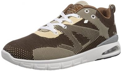 Buy British Knights Men's Demon Dark Brown and Light Brown Sneakers - 10 UK from Amazon