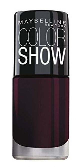 Buy Maybelline New York Color Show Bright Sparks, Molten Maroon 702, 6ml from Amazon