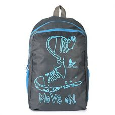 Buy Lutyens Polyester Black Blue School Bags (17 Liters) (Lutyens_194) from Amazon