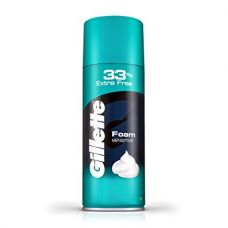 Gillette Sensitive Skin Shave Foam - 418 g with free 33% extra for Rs. 169
