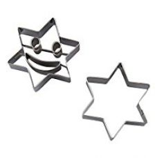 Evana 2-Pcs Star Cookie Baking Molds Kitchen Accessories for Rs. 199