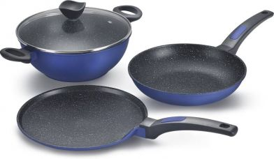 Prestige Omega Die Cast - Build Your Kitchen Cookware Set  (Aluminium, 4 - Piece) for Rs. 2,595
