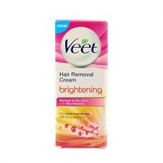 Buy Veet Brightening Hair Removal Cream - 50 g (Normal to Dry Skin) from Amazon