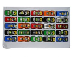 Aarushi Small Ben 10 Racing Cars For Kids Pack of 25 for Rs. 349