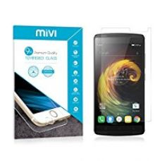 Buy Mivi Military Grade Anti-Scratch Tempered Glass Screen Guard for Lenovo Vibe K4 Note (0.3mm, Clear) from Amazon