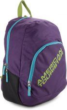 Buy American Tourister Jasper Backpack  (Purple) for Rs. 899