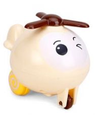 Buy Baby Toy Helicopter - Cream Brown from FirstCry
