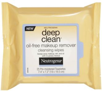 Buy Neutrogena Deep Clean Oil Free Makeup Remover Cleansing Wipes 25 Count from Amazon