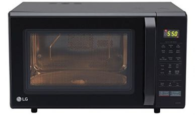 LG 28 L Convection Microwave Oven (MC2846BV, Black) for Rs. 12,400