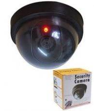 Buy Dummy Fake Infrared Sensor Dome Wireless Security Camera With Blinking Led Realistic Looking Cctv Surveillance - Sctcmr from Rediff