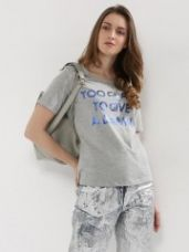 Get 20% off on ONLY Foil Print T-Shirt