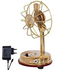 Buy Jaipuri Haat Medium Size Antique Brass Made Fan along with charger (17*8*8 CM) from Amazon