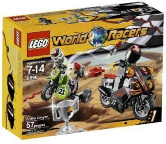 Flat 22% off on Lego World Racers Snake Canyon 8896(Multicolor)