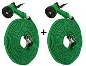 Buy Set Of 2 Spray Gun 10 Meter Mtr House Garden Pipe Car Wash from Rediff