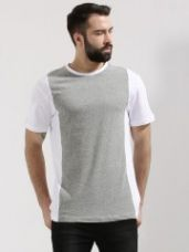 Flat 40% off on KOOVS Front Panel T-Shirt