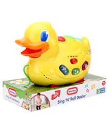 Buy Little Tikes Sing N Roll Ducky from FirstCry