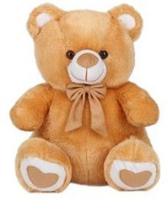 Ultra Spongy Teddy Bear Brown - 15 inches for Rs. 428