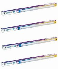 Buy Wipro Garnet 22W 4 Ft. LED 3-in-1 Tubelight Batten Colour Changing (Cool Day Light/Neutral White/Warm White) - Pack of 4 for Rs. 3,189