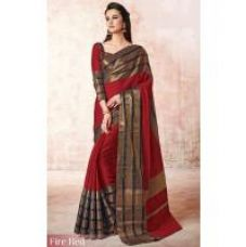 Get 92% off on Indian Beauty Lively Art Silk Traditional Designer Saree