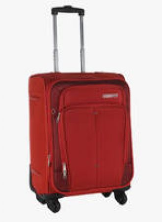 55Cm Crete Rust Soft Luggage Strolley for Rs. 3240
