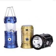 Buy Premsons 6 LED Solar Power Camping Lantern Rechargable Collapsible Night Light (Color May Vary) from Amazon