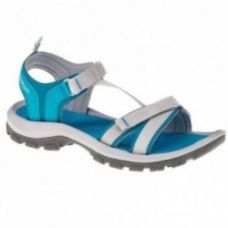 Buy Arpenaz 100 Female Hiking Sandals – Blue from Decathlon