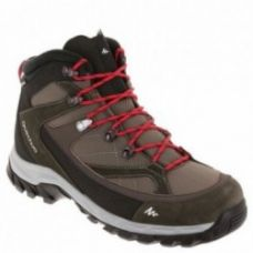 Buy Forclaz 100 Men Hiking Shoes Brown/Red for Rs. 2,999
