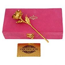 Buy Jewel Fuel 24k Gold Rose (25cm) With Exclusive Velvet Gift Box - Best Gift For your Loved ones from Amazon