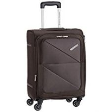 Buy American Tourister Peru Polyester 55 cms Brown Soft Sided Carry-On (AMT PERU SP 55CM EXP - BROWN) from Amazon
