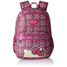 Hello Kitty Nylon 48 cms Pink Children's Backpack (Age group :8 yrs +) for Rs. 682