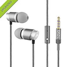 TIZUM HT-110 All-Metal Hi-Fi In Ear Earphones with Mic, Clear Sound, Sweat-Proof Comfort Fit Earbuds (Ash Gray) for Rs. 799