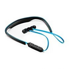 Soundlogic StayFit Bluetooth Headset stereo sport headset with in-ear magnetic earbuds and hands free calling - Blue for Rs. 1,399