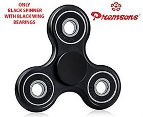 Buy Premsons 608 Four Bearing Fidget Spinner, Black from Amazon