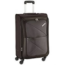 American Tourister Peru Polyester 78 cms Brown Soft Sided Suitcase (AMT PERU SP 77CM EXP - BROWN) for Rs. 6,050