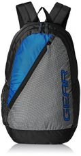 Buy Gear Polyester 29 Ltrs Grey and Royal Blue School Bag from Amazon