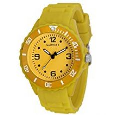 Laurels Ice Analog Yellow Dial Kids Watch - Lo-IC-0808 for Rs. 499