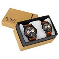 Buy Relish RE-COU-0104 Analog Watches Combo for Couples from Amazon