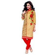 Buy Oomph! Women's Unstitched Salwar Suit Dupatta/Cotton Salwar Suit/Embroidered Dress Material, from Amazon
